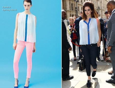 Lana Del Rey In Sandro – Out In London | Red Carpet Fashion ... | Lana Del Rey - Lizzy Grant | Scoop.it