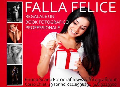 Regala un book fotografico professionale a Torino | Book Fotografico Professionale Torino | Scoop.it