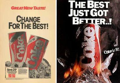 Los 79 días que duró el cambió de fórmula de Coca-Cola | PBrand 3.0 | Scoop.it