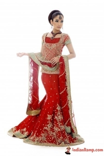 Indian Women Bridal Dress Collection in Red, Wedding Carnival India | Indian Fashion Updates | Scoop.it