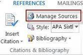 Create a bibliography - Using Word | Information Services | Scoop.it