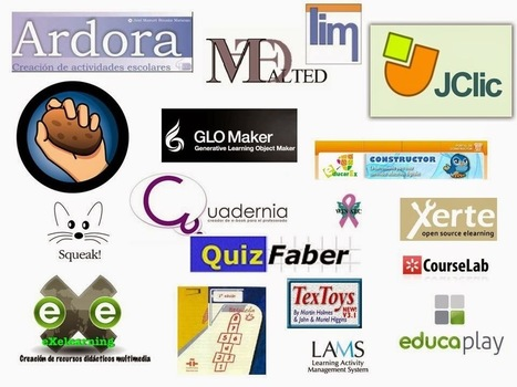 Herramientas para crear actividades #web2.0 #Tutor_INTEF | CLIL VISUAL ARTS AND TECHNOLOGY | Scoop.it