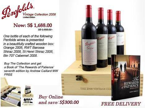 Penfolds 2008 Vintage Collection - The Oaks Cellars | The Oaks Cellars | Scoop.it