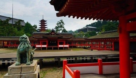 Japan Holidays, Shinto Shrine In Miyajima Island | asia holidays destination picture | Beauty building, park, and city in asia | Scoop.it