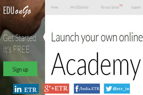 EDUonGo: Launch Your Own Online School - EdTechReview™ (ETR) | EdTech News, Reviews and Practices | Scoop.it