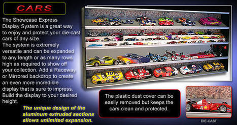 Diecast Cars Display Cases Available For Sale | Best Wall Mounted Glass Display Cases | Scoop.it