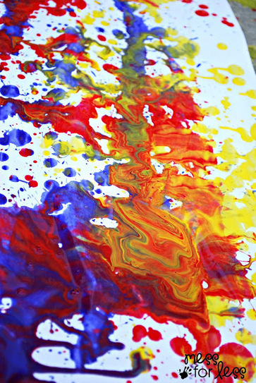 Mess For Less: Squirt Bottle Painting | Art Education | Scoop.it