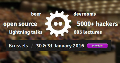 FOSDEM 2016 Schedule – Open Source Hardware and Software Event in Europe | Embedded Systems News | Scoop.it