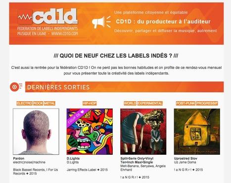 #Cd1d : Les nouveautés des labels indépendants - Septembre 2015 | Labels CD1D | Scoop.it