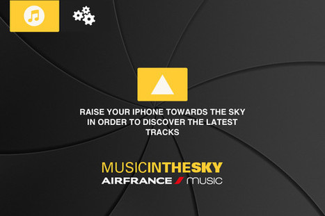 An Augmented-Reality App That Lets You 'Snatch' Songs From The Sky - DesignTAXI.com | All about Augmented Reality | Scoop.it
