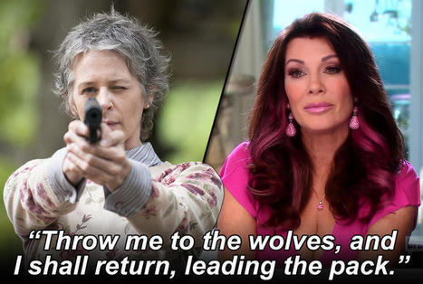 Who Said It: Walking Dead Character or Real Housewife? : | Daring Fun & Pop Culture Goodness | Scoop.it