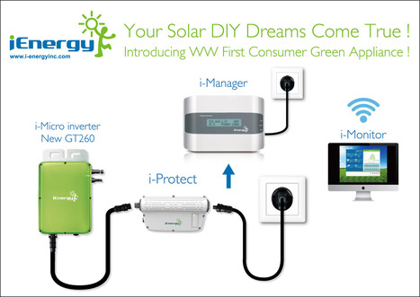 New DIY Solar Solution Launched by i-Energy | Open source & DIY projects | Scoop.it