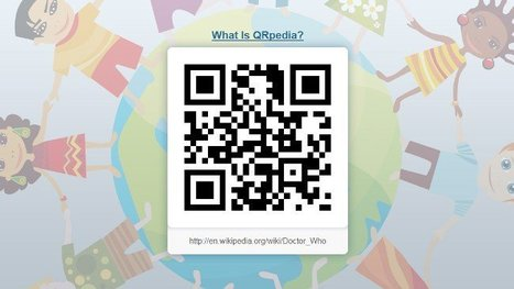 QRpedia genera el código QR de cualquier página de Wikipedia   #Biblioteca, educación y nuevas tecnologías   Scoop.it