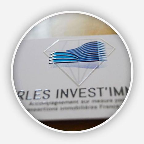 Création logo flashcode design et cartes de visites pour Irles Invest Immo | Actu de la Com' et du Web | Scoop.it