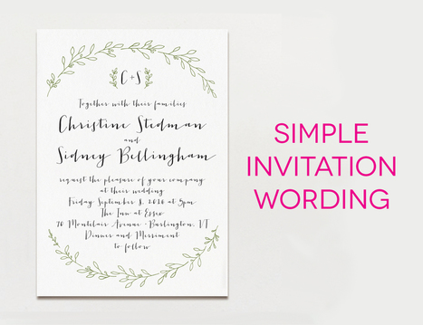 Know About Different Sections of Wedding Card Wordings   The Wedding Cards Online   Scoop.it