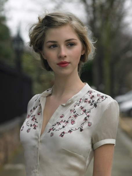 Beautiful hair and makeup, vintage style | Abercrpmbie Deutschland | Scoop.it