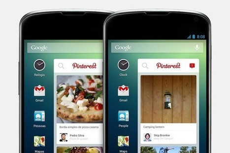 Pinterest launches an Android widget, but only for Telefonica customers | Social is Visual by Heaven | Scoop.it