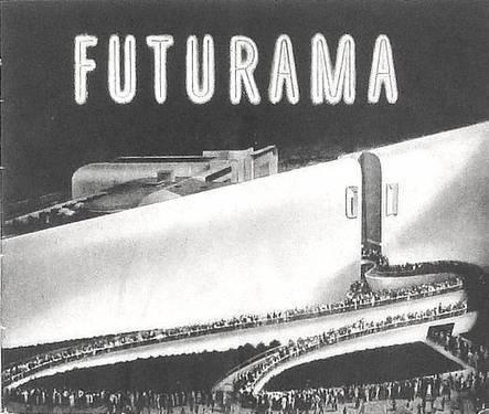 Past Print: GM Futurama brochure / New York World's Fair / 1939 | Outbreaks of Futurity | Scoop.it