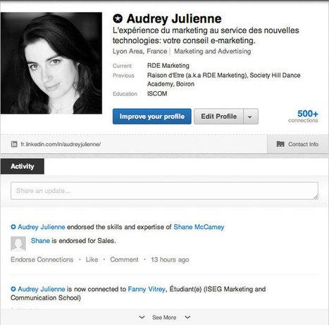 Prospection | 6 conseils pour mieux utiliser LinkedIn | Créations de liens | Scoop.it