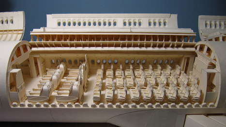 This meticulously crafted 777-replica is made of manila folders | Paper Horizon | Scoop.it