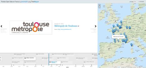 Portails Open Data en France - Chronologie   Open Data - Données ouvertes   Scoop.it
