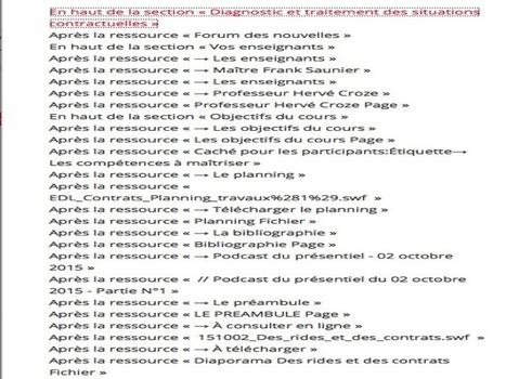 Moodle et Conception pédagogique (JP Moiraud) | E-pedagogie, apprentissages en numérique | Scoop.it