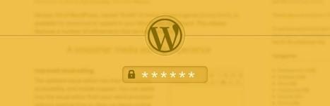 Réaliser un système de zone membre dans WordPress - wabeo | Wordpress | Scoop.it