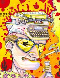 DREGstudios! The Artwork of Brandt Hardin: In Memoriam: Hunter S. Thompson | the Gonzo Trap | Scoop.it