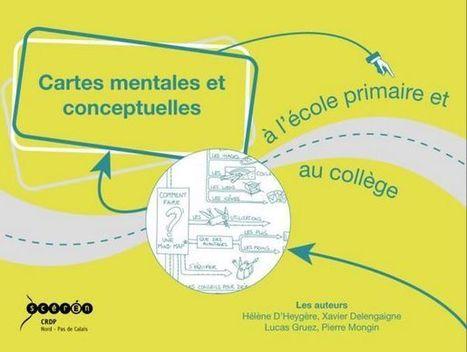 Parution d'Enseigner avec les cartes mentales et conceptuelles en primaire et en collége CD-Rom - [MIND MAPPING POUR TOUS] | Cartes mentales | Medic'All Maps | Scoop.it