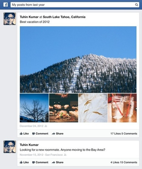 Facebook now supports search within the timeline :: Society of the Query | Onderwijs innovatie & e-learning | Scoop.it