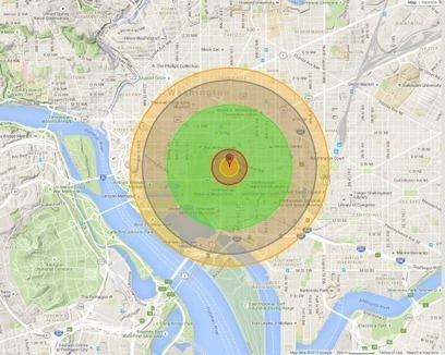What it would look like if the Hiroshima bomb hit your city | Patu | Scoop.it