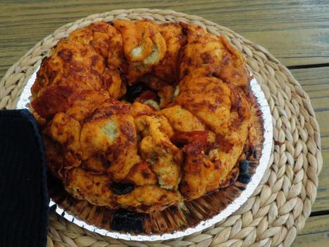 Hartig breekbrood; Een pizza brood voor borrel of snelle maaltijd | Lekker Tafelen | Scoop.it