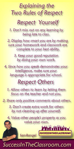 Classroom Management – You Only Need Two Rules | Tips For New Teachers and Student Teachers | Routines and Procedures in High School Classroom | Scoop.it