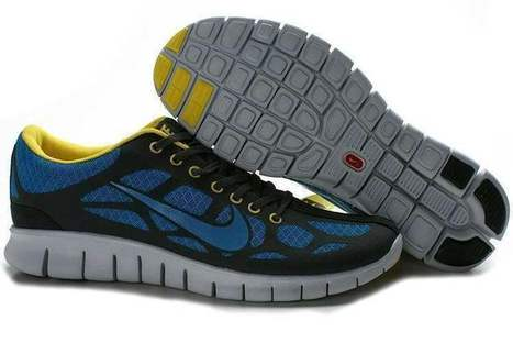 Nike Free Run 3 Men Black Green | fashion outlet | Scoop.it