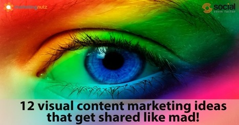 12 Visual Content Marketing Ideas that Get Shared Like Mad | Wood Street Content Marketing Collection | Scoop.it