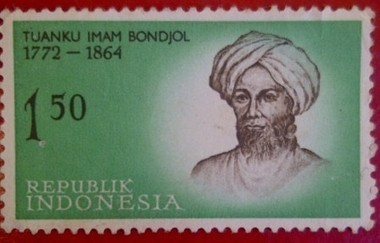 Tuanku Imam Bondjol ( 1772-1864) : Collection stamp series Legend of Heroes Indonesia | RedGage | Stamp Collection | Scoop.it