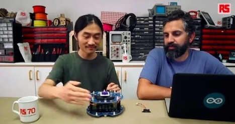 "Arduino Blog » Blog Archive » Avoid obstacles, create strategies with Arduino Robot – video tutorial | L'impresa ""mobile"" 