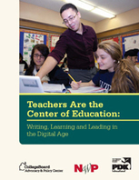 Report Spotlights Revolutionary Use of Technology in Teaching Writing - National Writing Project | 7thGradeTeacher | Scoop.it
