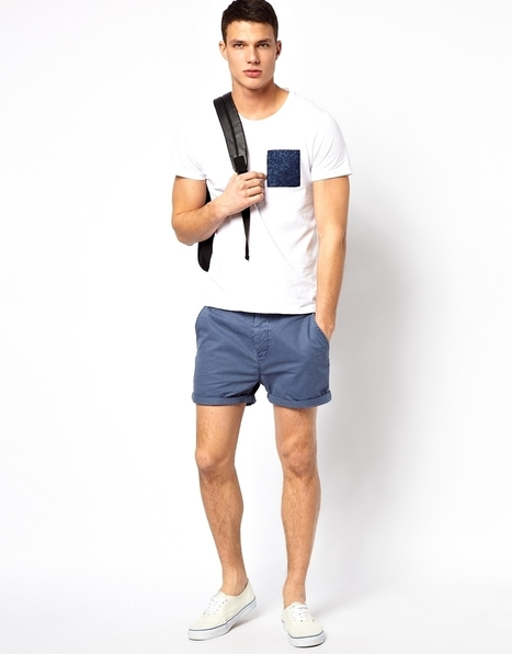Look du jour : short chino | Le blog mode de l'homme urbain | Scoop.it