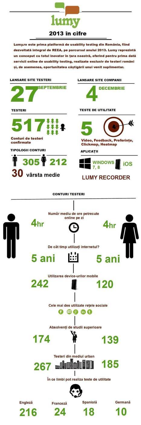 2013 în cifre – Lumy.ro | Blog Lumy | Usability testing | Scoop.it