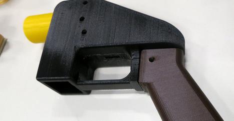 Arrêté pour avoir imprimé des armes à feu avec une imprimante 3D | Libertés Numériques | Scoop.it