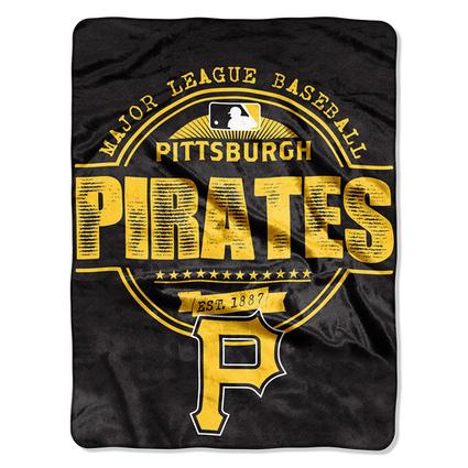 Pittsburgh Pirates MLB Micro Raschel Blanket (Structure Series) (45in x 60in) - FanGift | Entrepreneural Spirit | Scoop.it