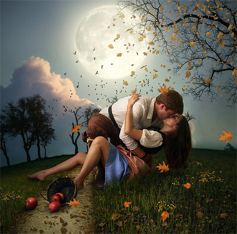 Créer une scène romantique avec Photoshop. Photomanipulation. | TUTORIELS | Scoop.it