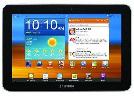 Ice Cream Sandwich update hits Samsung Galaxy Tab 8.9 3G ... | Samsung mobile | Scoop.it