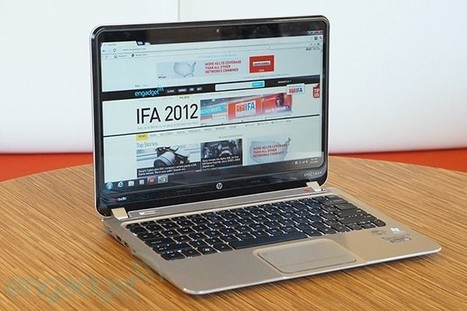 HP Envy Spectre XT.. sleek, speedy Ultrabook with a killer keyboard (review) | Mobile IT | Scoop.it