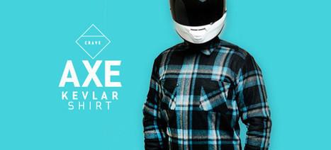 Une chemise en kevlar pour protéger les motards des chutes | Fusion | Scoop.it