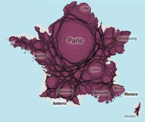 Worldmapper: The world as you've never seen it before | Digital #MediaArt(s) Numérique(s) | Scoop.it