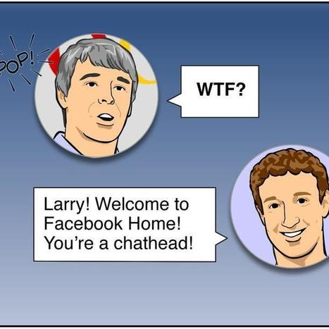 Facebook Chat Heads Are Larry Page's Worst Nightmare | Social Media Sanctuary | Scoop.it