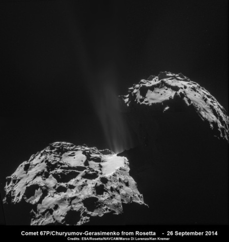 More Evidence That Comets May Have Brought Life to Earth | University of Kent in the News | Scoop.it