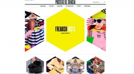 20+ Awesome Websites Utilizing Hexagons in a Cool Way | Best PSD to HTML | Web Design | Scoop.it